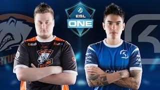 CS:GO - Virtus.Pro vs. SK [Mirage] Map 3 - ESL One Cologne 2016 - Semifinals