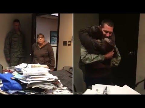 23-Year-Old Air Force Member Surprises Grandma Before Deployment to South Korea