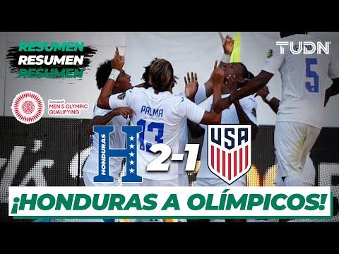 Resumen y goles | Honduras 2-1 Estados Unidos | Semifinal - Preolímpico 2021 | TUDN