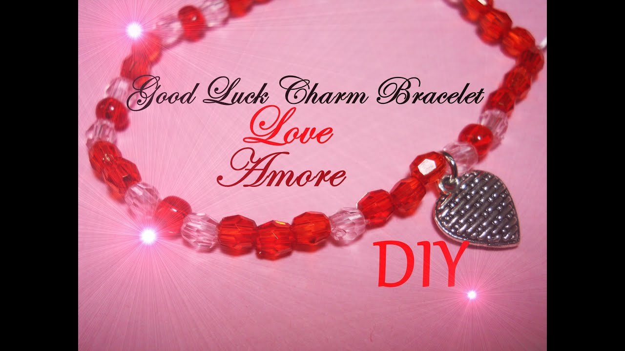 amore charm braccialetto luck how dell bracelet diy tutorial good love to watch portafortuna