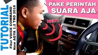 Voice Command New AGYA 2018 Toyota Indonesia