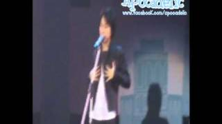 101107  Hyungjun Solo  @ Thanks Party Only You & SHU-I Concert.wmv
