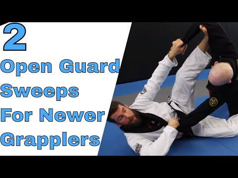 2 Effective Spider Guard Sweeps for White Belts Wanting To Use Open Guard
