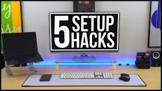 clean gaming setup