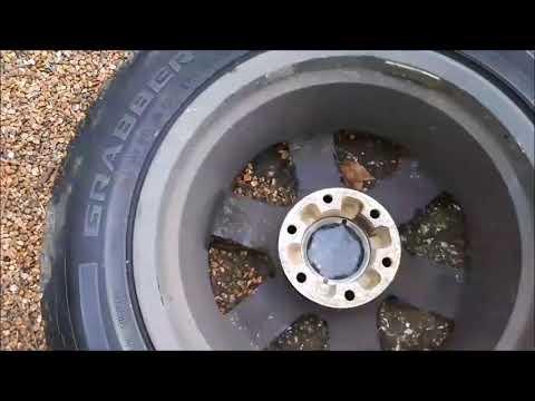 Fitting Mitsubishi Shogun Sport Wheels On A Standard Mitsubishi Shogun,