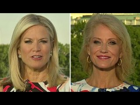 Conway: DC dropped everything for Comey, Trump kept working