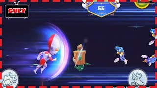 trò chơi Siêu nhân điện quang đi cảnh qua màn vượt thử thách cu lỳ chơi game lồng tiếng vui nhộn