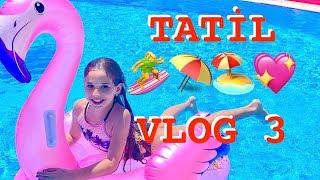 Tatil Vlog 3 Otelde İkinci Gün. Ecrin Su Çoban
