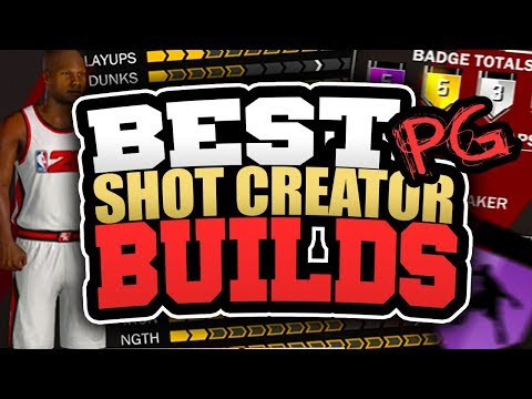 BEST SHOT CREATOR POINT GUARD BUILDS in NBA 2K18! HOW TO CREATE AN OVERPOWERED POINT GUARD IN 2K18!