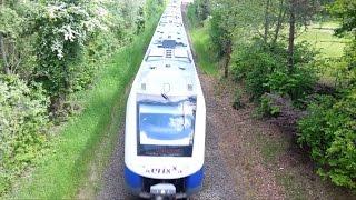 Alstom Coradia LINT 54 BR 622 Doppeltraktion Der Erixx GmbH Bei Wendisch Evern