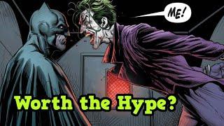 Was Batman: Three Jokers Worth the Hype?