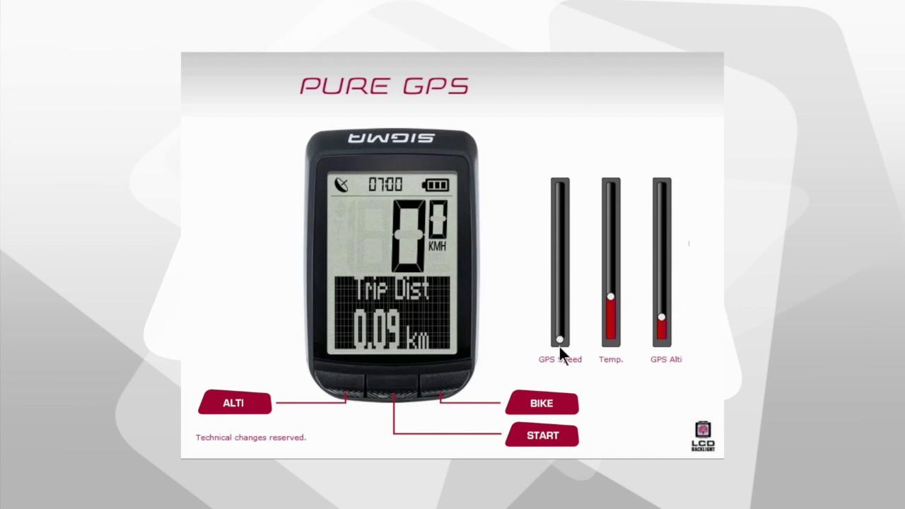 e6e1e670a Odometro Bicicleta Sigma Ciclocomputador Pure Gps Ruta Mtb - $ 339.900 en  Mercado Libre