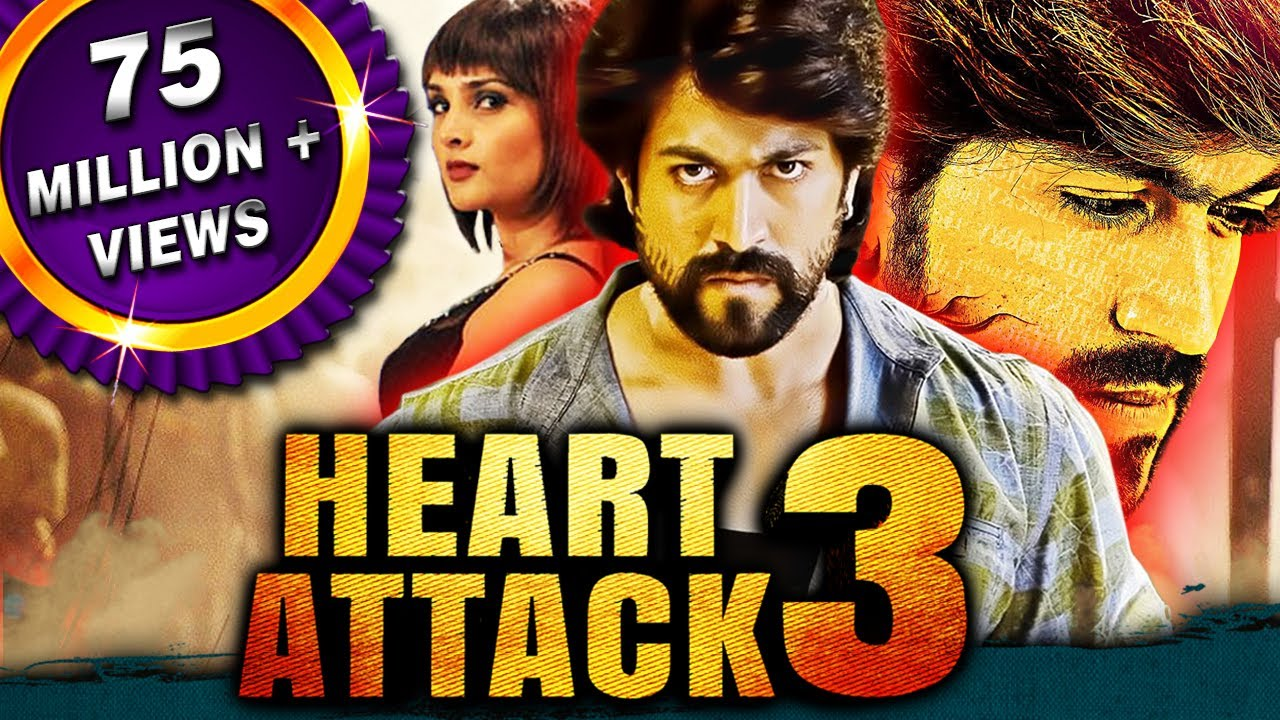 Watch Movie Heart Attack 3 (Lucky) 2018 New Released Full Hindi Dubbed Movie | Yash, Ramya, Sharan