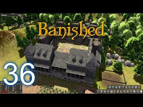 BANISHED--Episode #36-- GIGANTIC CASTLE, STRAWBERRIES, SUGAR FACTORY!!