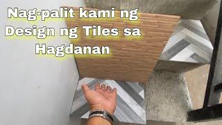 Nagpalit kami ng  design ng tiles sa Hagdanan / modern house 2020