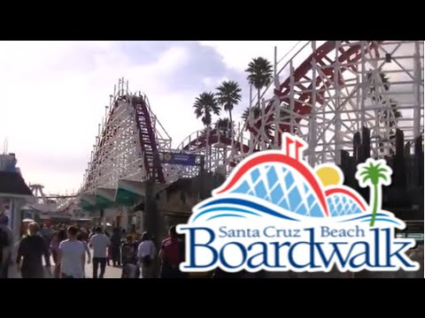 Santa Cruz Beach Boardwalk FULL Tour & Review with The Legend