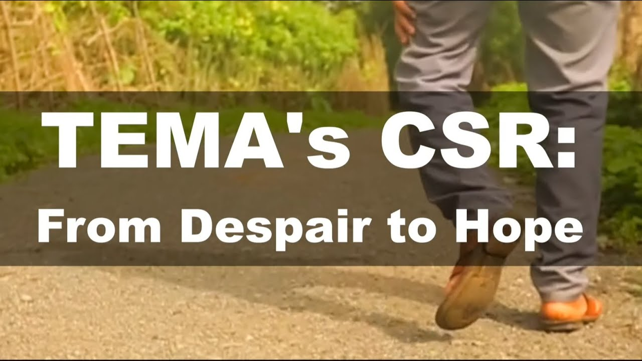 Download From Despair to Hope   TEMA's CSR