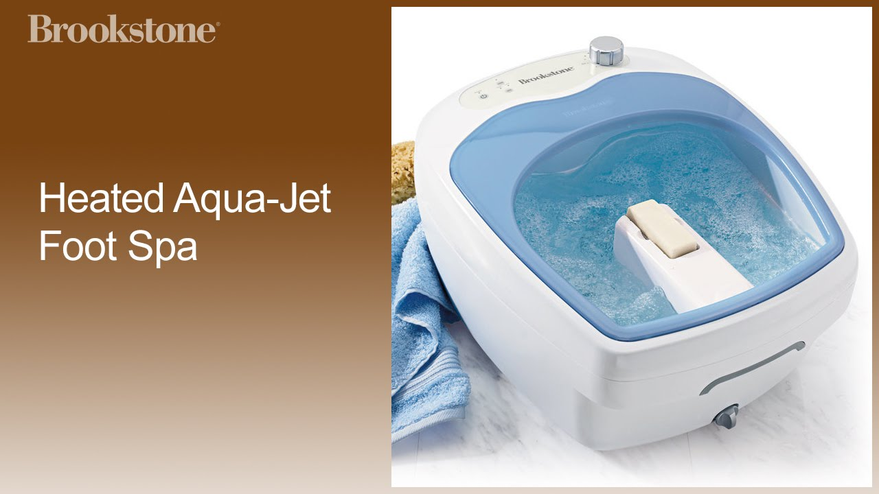 Heated Aqua-Jet Foot Spa How to Video