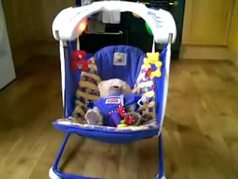 Fisher Price Aquarium Take Along Swing