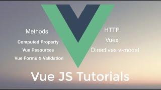 Vue JS Learning Beginners