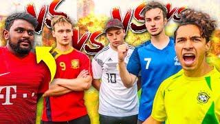 ULTIMATIVE WM FREISTOß FUßBALL CHALLENGE!