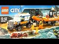 Lego Octopus attack Coast Guard 4x4 Response Unit 60165 - Lego octopus Rescue - Lego Speed Build