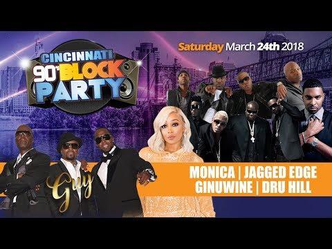 Cincinnati 90's Block Party - March 24th @ U.S. Bank Arena