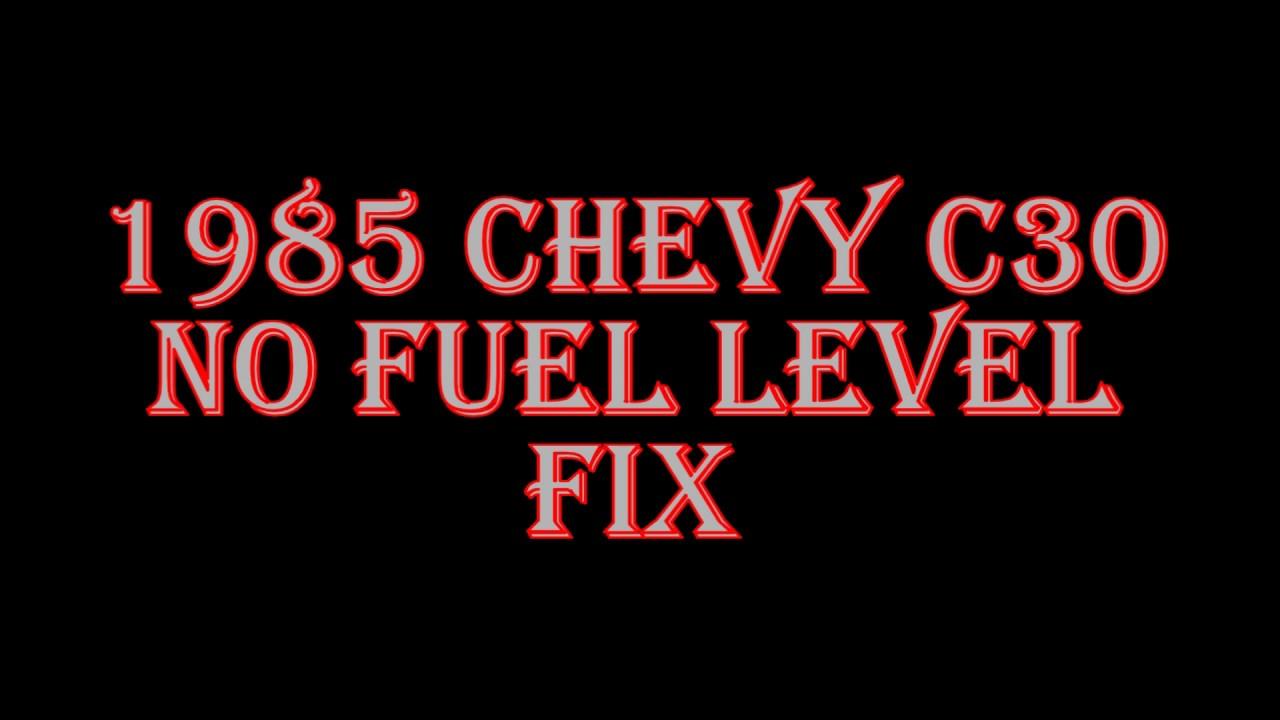 1987 chevrolet fuel tank wiring diagram [ 1280 x 720 Pixel ]