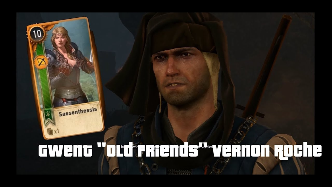 witcher 3  gwent  gwint  quest old pals old friends