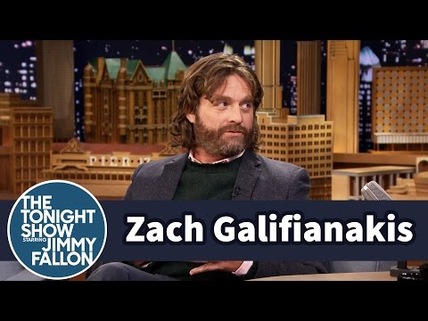 Zach Galifianakis Hates Red Carpets, Loves Blowing Smoke