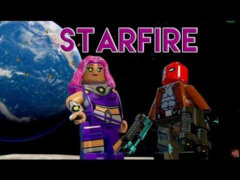 LEGO Batman 3: Beyond Gotham - Starfire Gameplay (Heroines ...