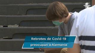 Los repuntes de contagios registrados en las últimas semanas preocupan a las autoridades alemanas; este miércoles se contabilizaron mil 226 nuevos contagios de coronavirus