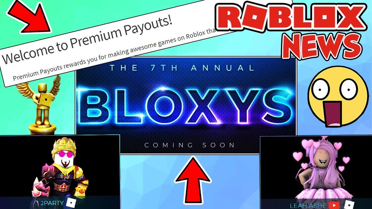 Roblox News Bloxy Awards Update Whole New Format Premium