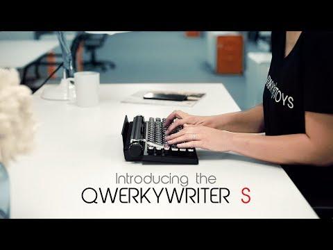 New Qwerkywriter S® The Original Typewriter Inspired Keyboard!