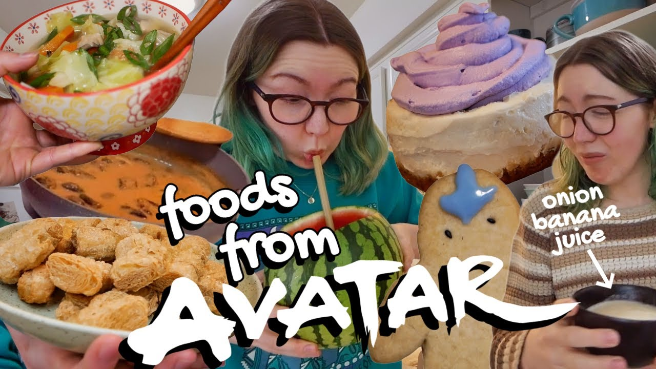 Download an entire week of vegan AVATAR themed food! 🌊🔥⛰🌪 *timestamps included*