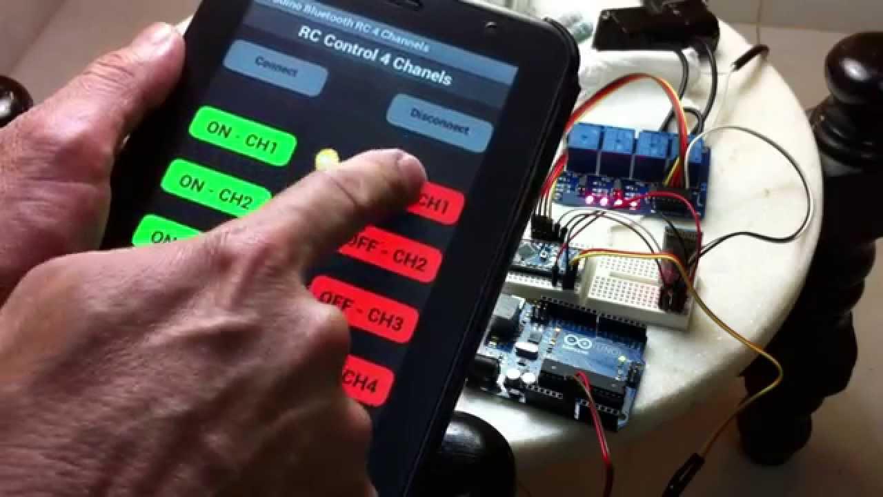 App Android Arduino Nano Module Relay Remote Control
