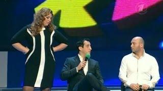 КВН Русская женщина и 4 кавказца