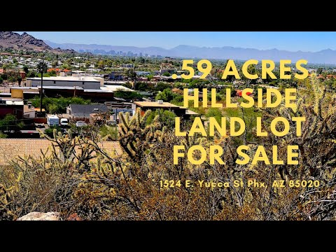 Phoenix Hillside land for sale - 1524 e Yucca St Phoenix, AZ 85020 - 16th St & Cave Creek area