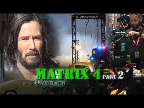KEANU REEVES filming of MATRIX 4 SF PART 2