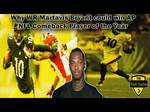 Why Martavis Bryant Could Win Comeback Player of the Year