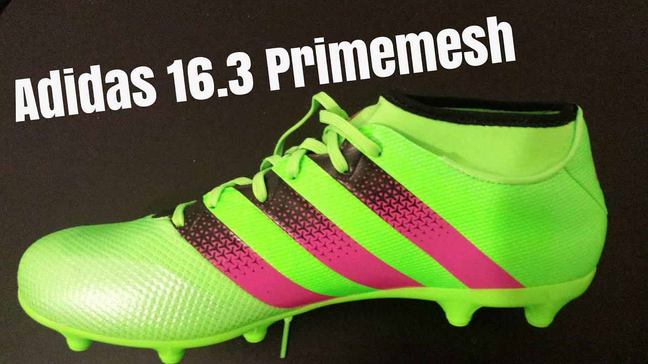4dc9259dacf0 UNBOXING  Adidas Ace 16.3 Primemesh - YouTube