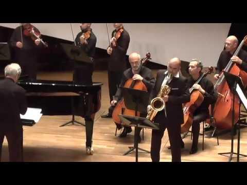 CONCERTO (2018) for Baritone Saxophone, Piano and String Orchestra - Albena Petrovic Vratchanska