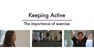 Empowerment through Support: Keeping active