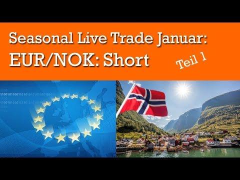 Erster Seasonal Forex Trade Im Januar: EURNOK: Short