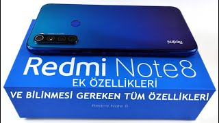 Redmi Note 8 BİLİNMEYEN ÖZELLİKLERİ