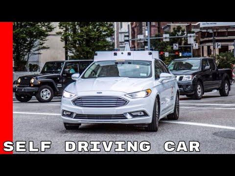 2018 Ford Fusion Argo AI Self Driving Car