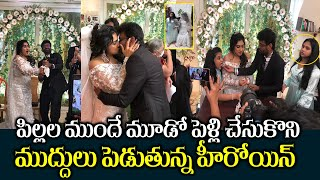 heroine Vanitha Vijaykumar 3rd marriage exclusive video | vanitha weds peter