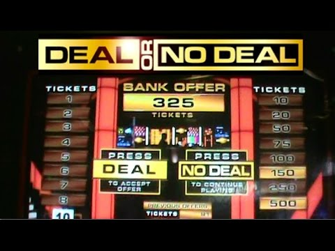 I CAN'T BELIEVE IT! | Deal Or No Deal Arcade Game | Arcade Fun | Jdevy