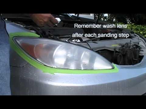 How To Use Turtle Wax Car Head Lightt Restore