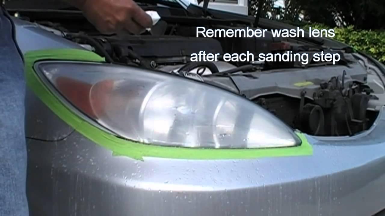 Instruction Video Headlight restoration kit